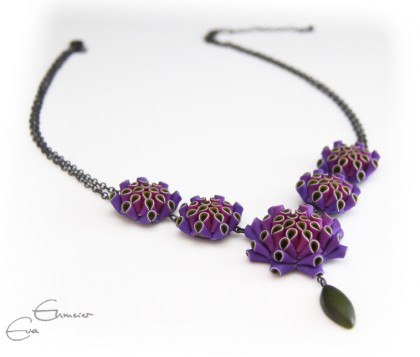 Eva Ehmeier Artichoke Drop Necklace