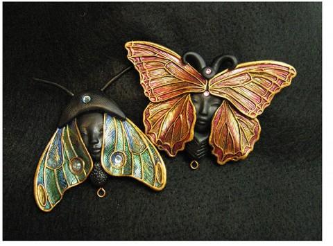Lilin deco butterflies