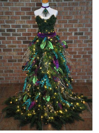 christmas-tree-dress-ribbon-runs-through-it