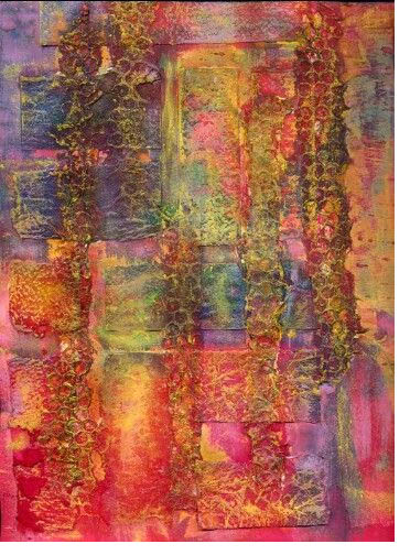 Ruth Issett textile - Textured Color