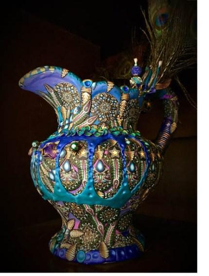clya monet pitcher2 430x567 - Jewel Tones for Days