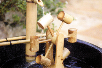 Bamboo Water Wheel by Bamboo Accents  Spitters