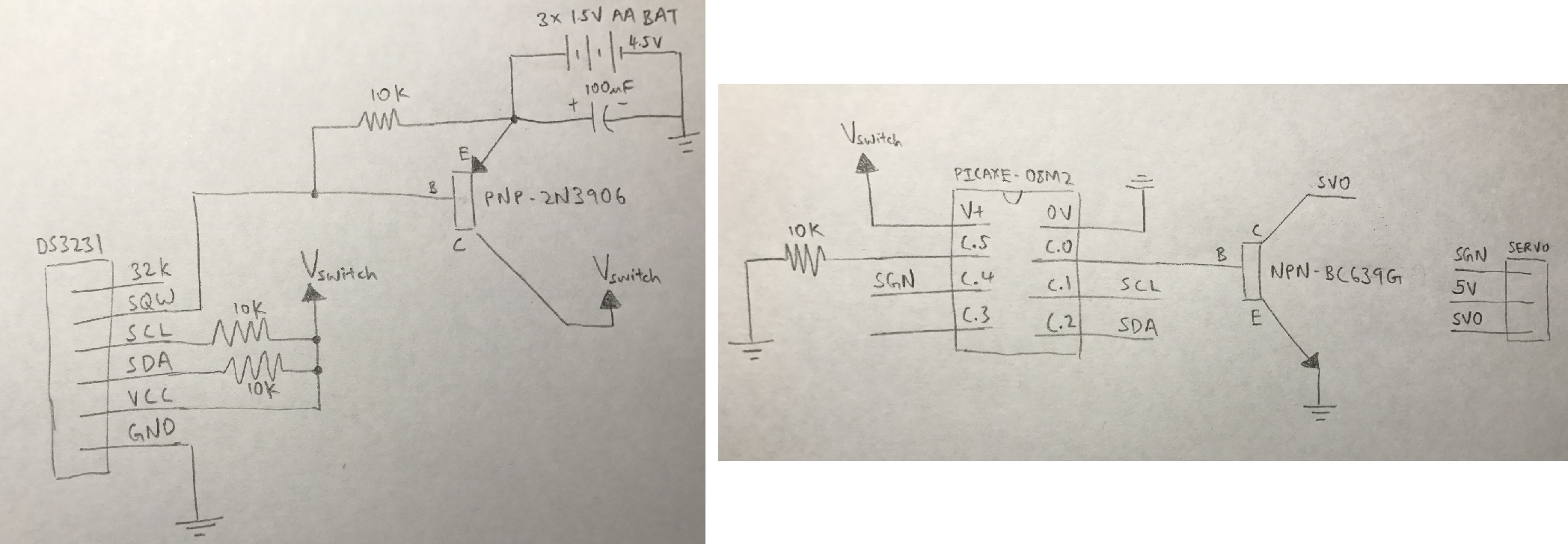 Rtc Ds3231 S Sqw Pin Goes Low When On Vbat And Triggers An