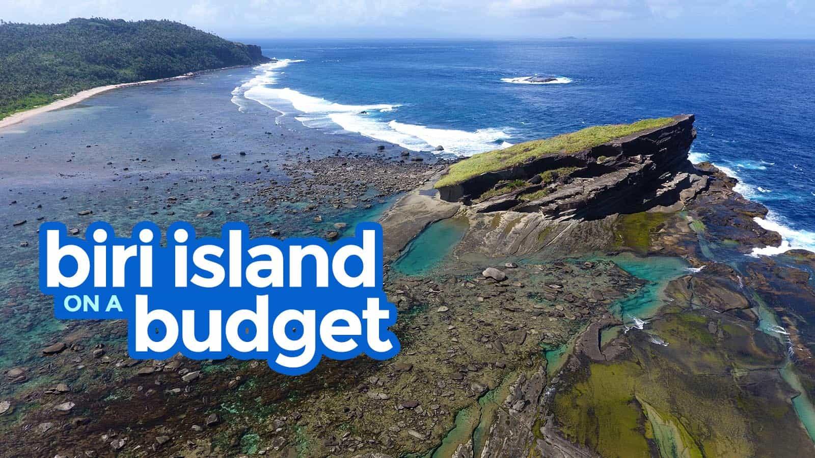 Biri Island On A Budget Northern Samar Travel Guide