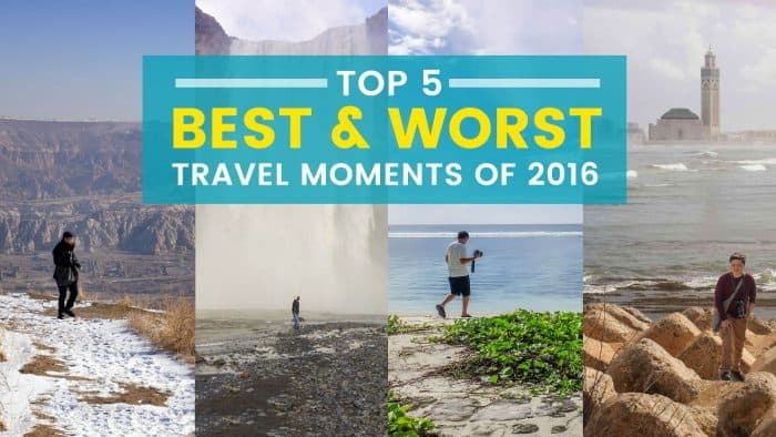Top 10 Best and Worst Travel Moments of 2016