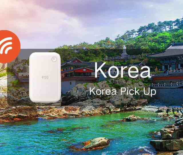Pocket Wifi Rental And Data Sim In Seoul
