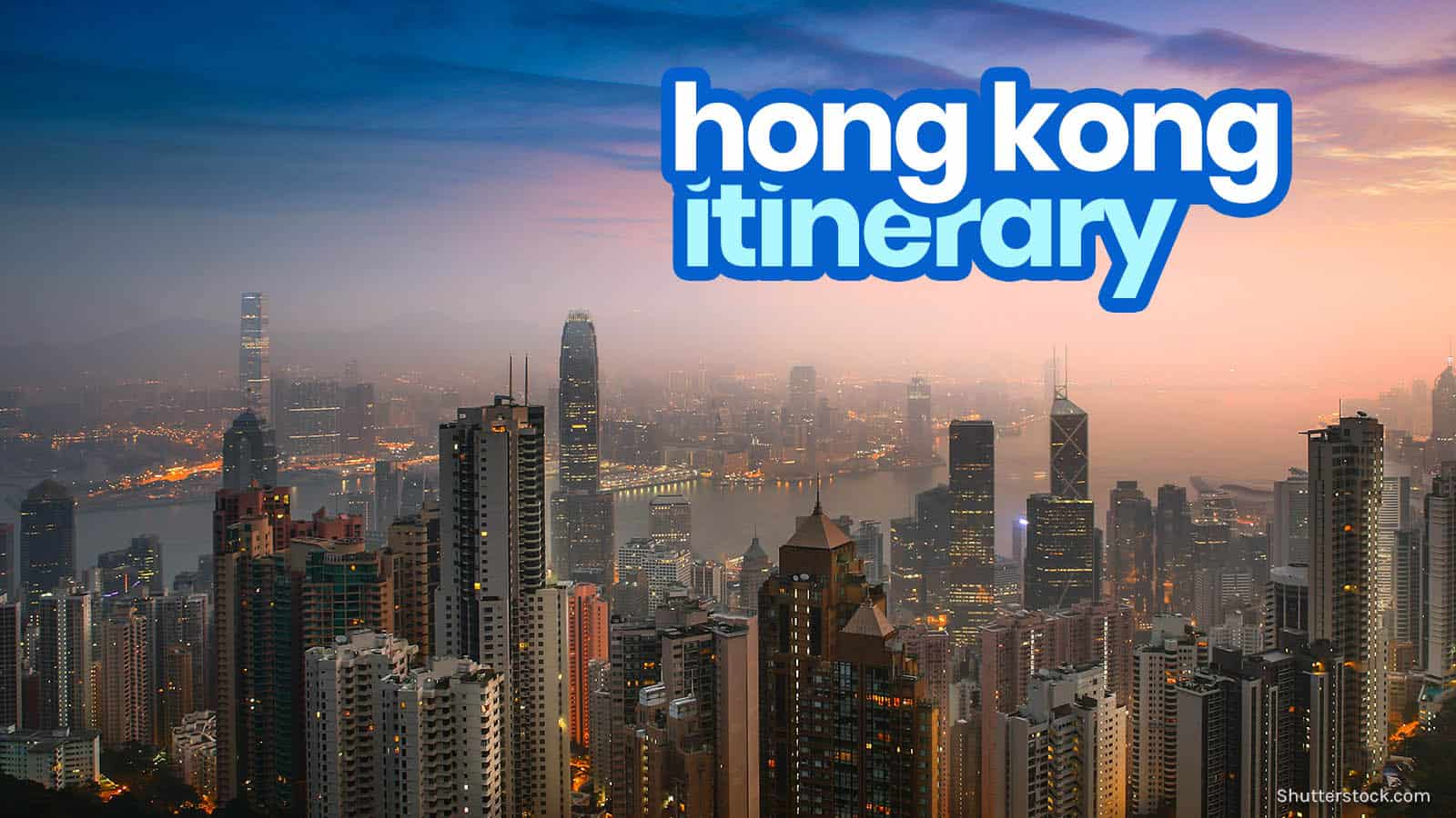 HONG KONG ITINERARY: 12 Best Things to Do & Places to Visit   The Poor Traveler Itinerary Blog