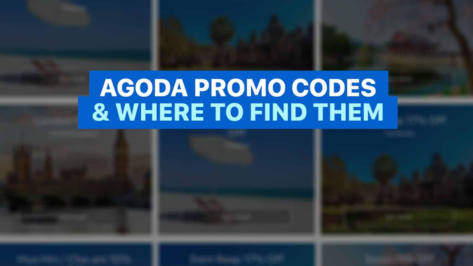 agoda promo codes and