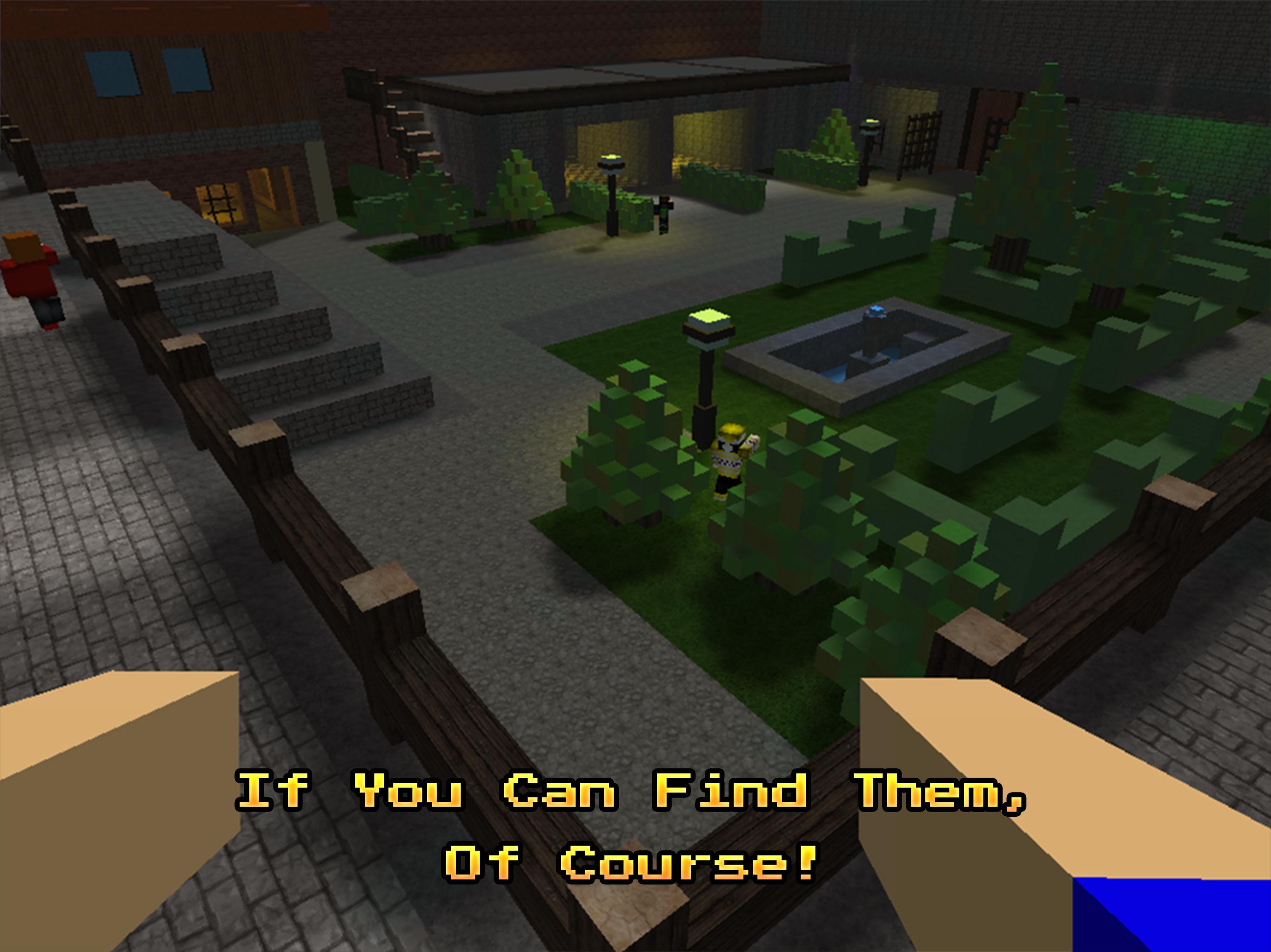 Hide And Seek Online Peekaboo 3d Party Mini Game