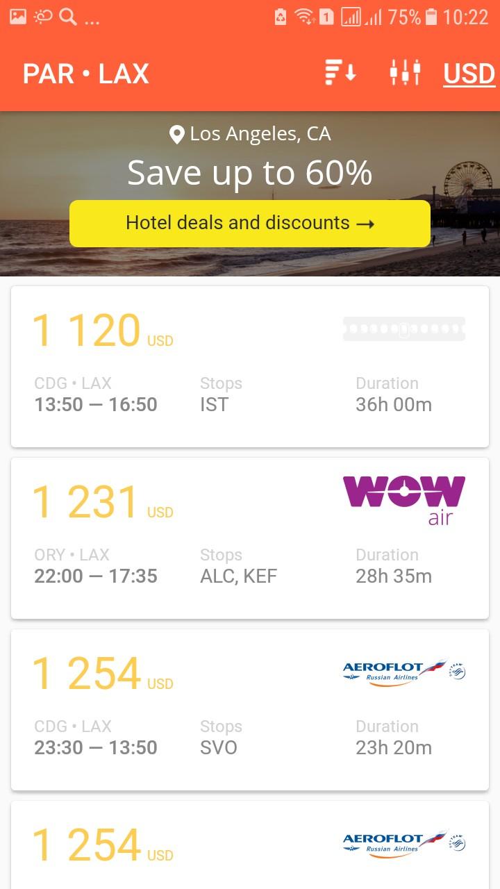 cheap flight search