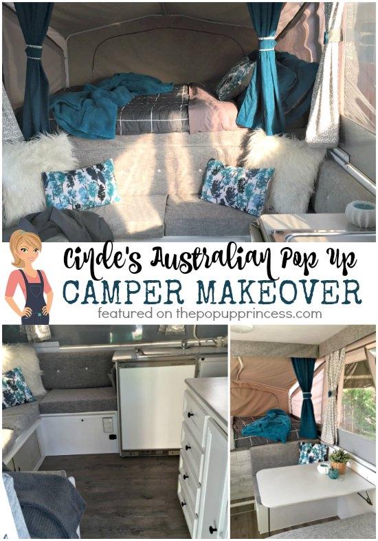 Cindes Australian Pop Up Camper Makeover  The Pop Up