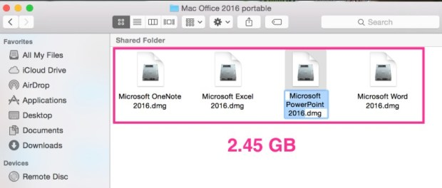 Portable MS office 2016 Free Download