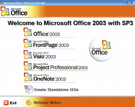 microsoft office 2003 free download for windows xp