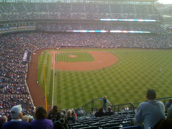 Right Field Nosebleed Section