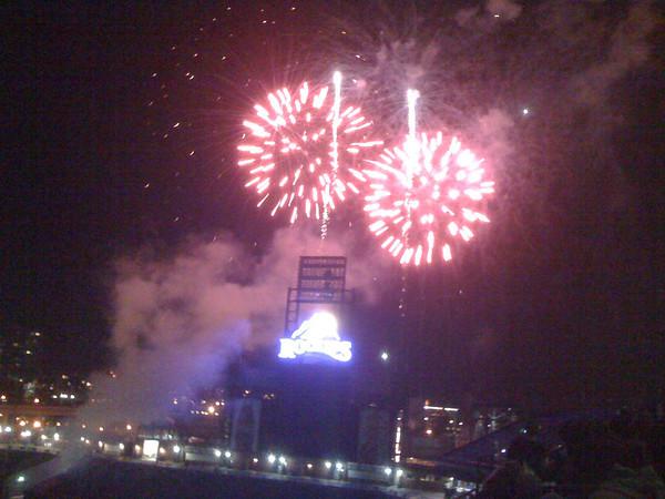 Rockies Fireworks