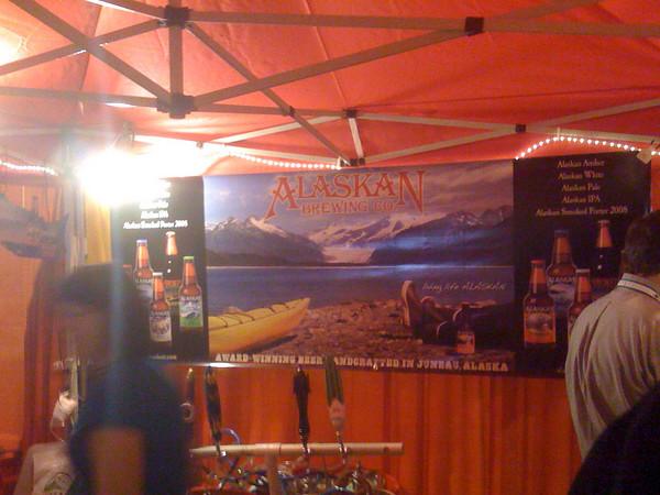 Alaskan Brewing Booth