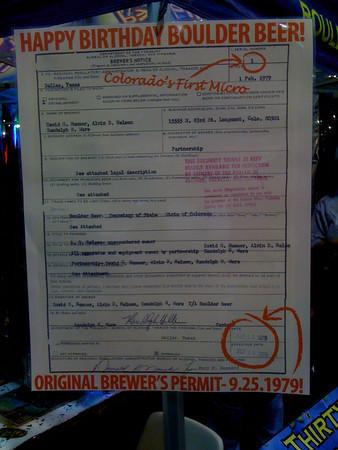 Boulder Beer Permit