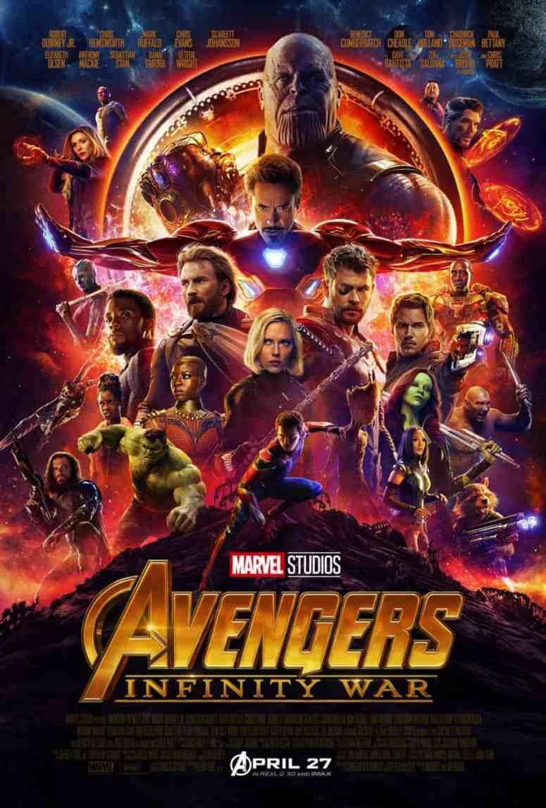 Avengers Infinity War poster - Marvel Studios