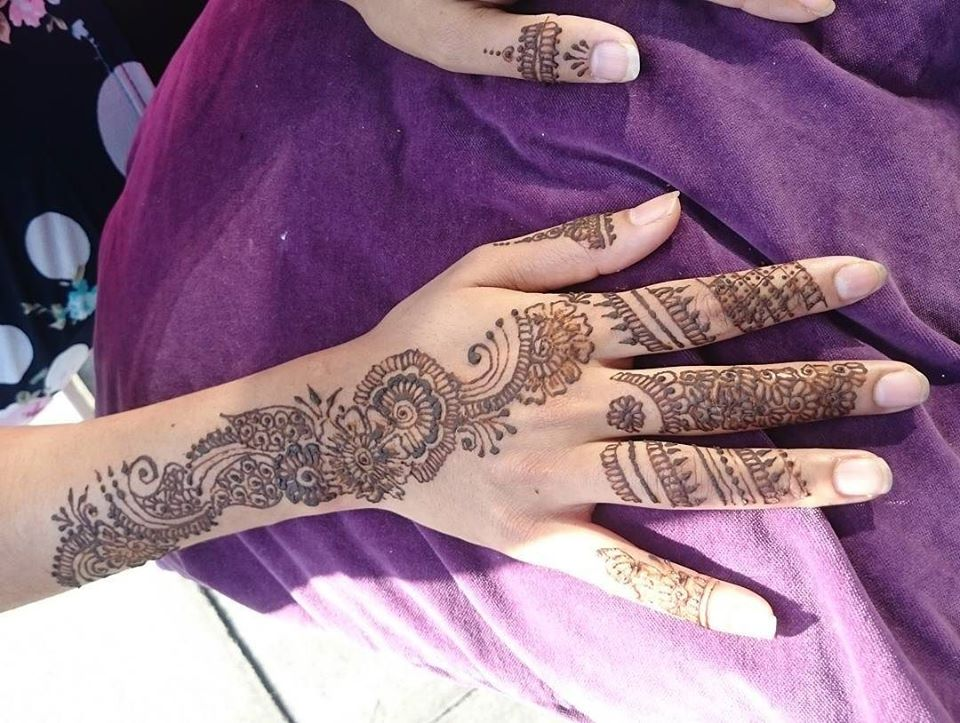 Mehndi Design 2018 Simple And Easy Full Hand Arabic