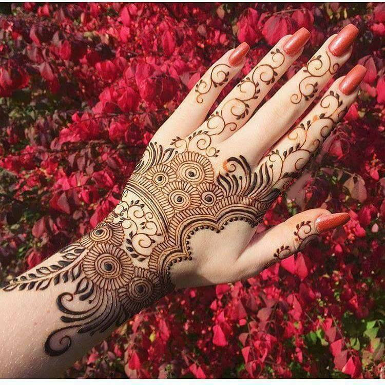 Mehndi Design Simple And Beautiful Arabic 2018