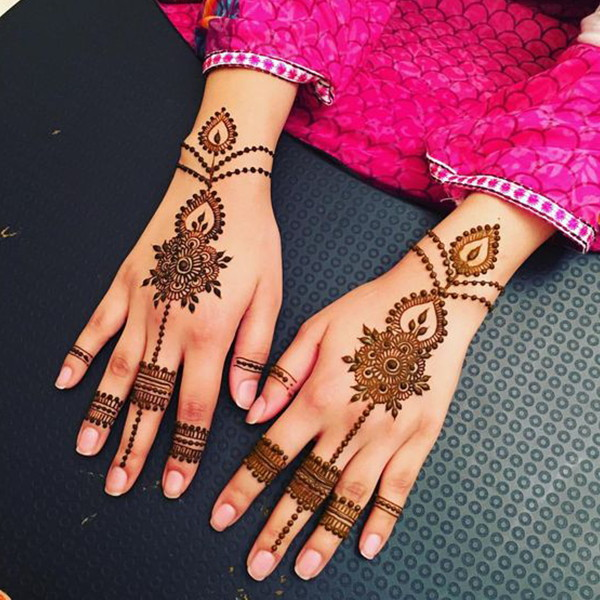 Simple Mehandi Designs Images Download