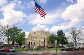 Upshur Country Court House, Uspher, Texas