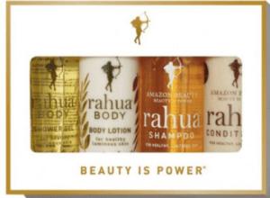 Rahua shampoo travel kit