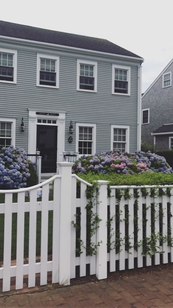 Nantucket home photo by christina dandar for The Potted Boxwood