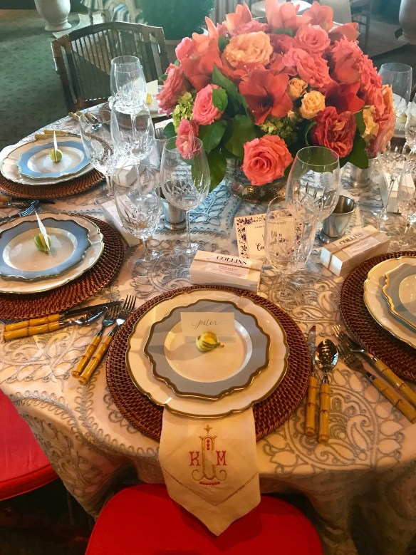 KKG Tablescapes 2017 photo by the potted boxwood 12