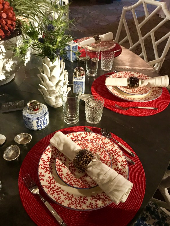 KKG Tablescapes 2017 photo by the potted boxwood 17