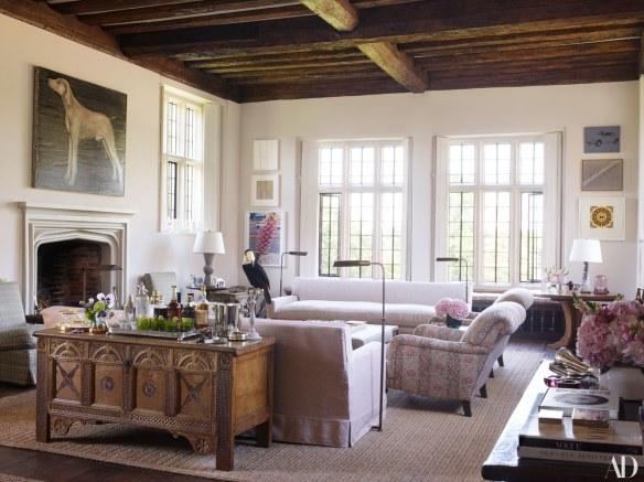 Claudia Schiffers Home via AD 3