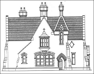 Listed Buildings in Stoke-on-Trent. (55a) Cemetery Lodge
