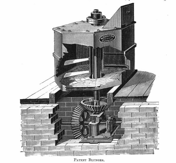 The blunger as originally designed by William Boulton