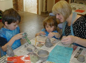 Play with Clay at The Potters Barn Small