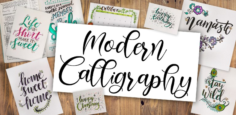 Calligraphy Course at The Potters Barn