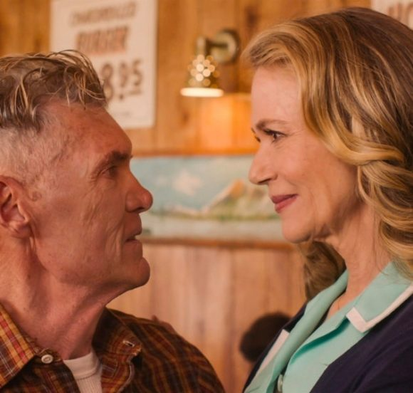 Everett McGill and Peggy Lipton in a still from Twin Peaks. Photo: Courtesy of SHOWTIME