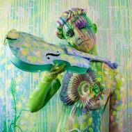 bodypainting inspired by music