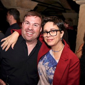 Allen Goldman and Nikki Lederman