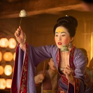 Yifei Liu as Mulan in Disney's MULAN. Photo credit: Jasin Boland. © 2020 Disney Enterprises, Inc. All Rights Reserved.