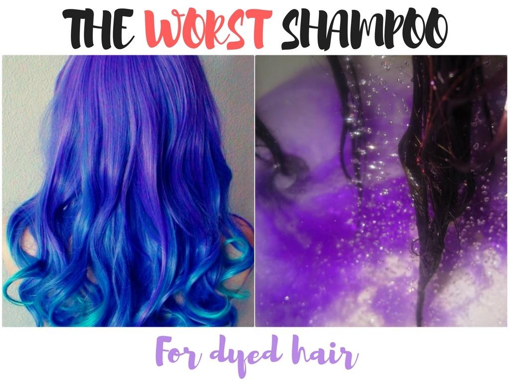 dyed hair s worst