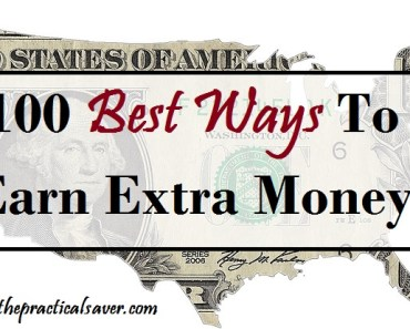 100 Best Ways To Earn Extra Money