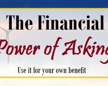 the financial power in asking