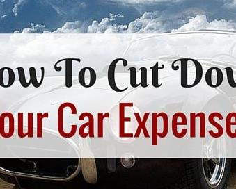 How To Cut Down Your Car Expenses