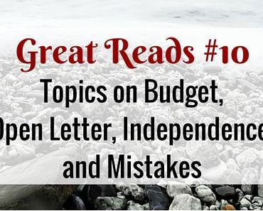 Great Weekly Reads #10