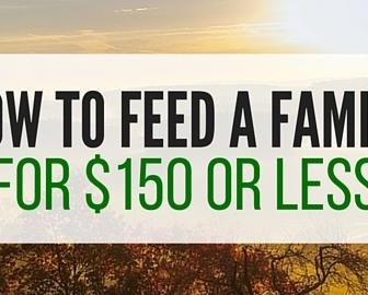 Reduce The grocery Budget: Feed A Family For $150 A Month