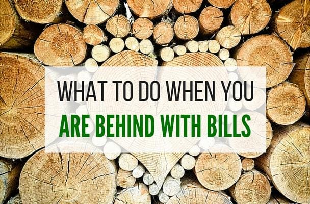 What To Do When You Are Behind With Your Bills?