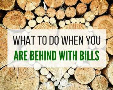 What To Do When You Are You Behind On Bills