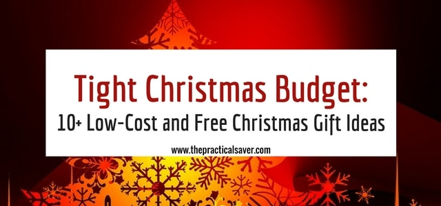12 days of christmas low cost free christmas gift ideas the practical saver. Black Bedroom Furniture Sets. Home Design Ideas