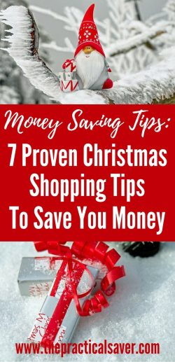 7 Proven Christmas Shopping Tips To Save Money