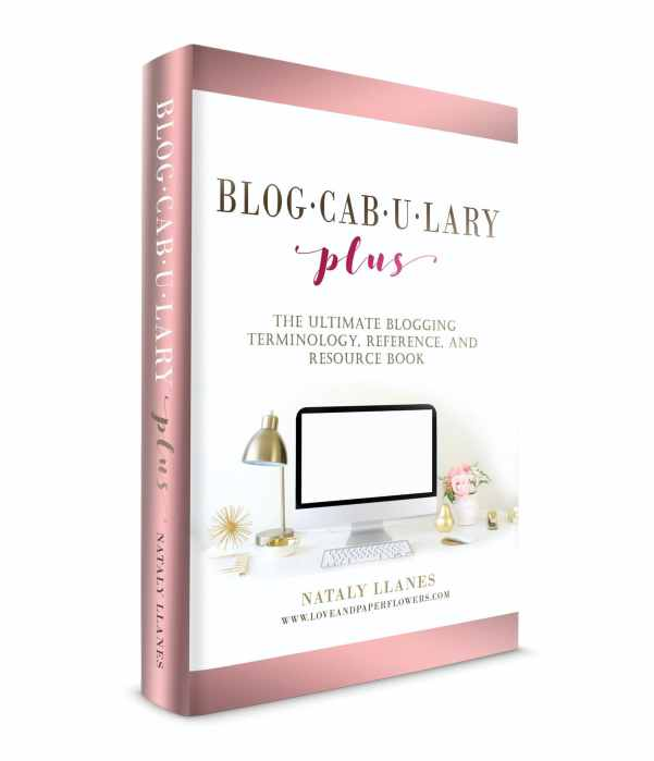 Interview with Nataly: Blogcabulary Plus – The Ultimate Blogging Book 1